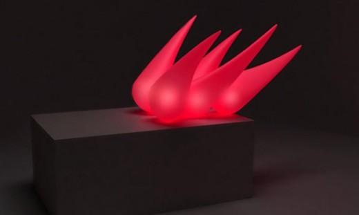 ANEMONA - visually unsteady lamp by Igor Pinigin