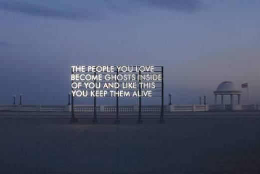 The artist vandalising advertising with poetry